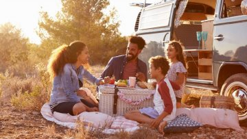 campervan family holiday