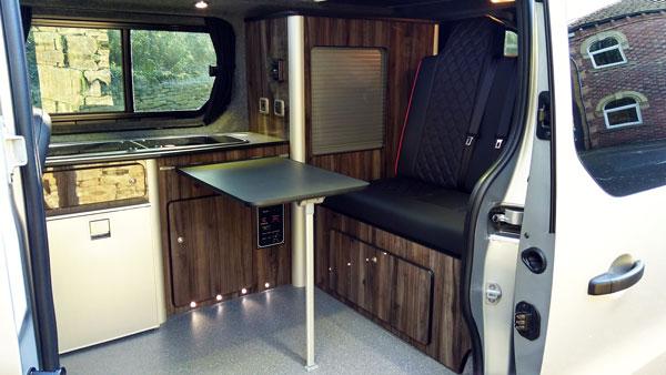 living in a campervan